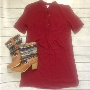 Old Navy red dress size M